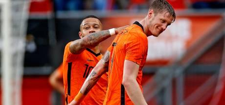 Depay blij voor aanvalspartner Weghorst: 'Je ziet dat hij heel Nederland achter zich heeft'