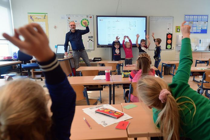 Dagje voor de klas op de Julianaschool in Fijnaart