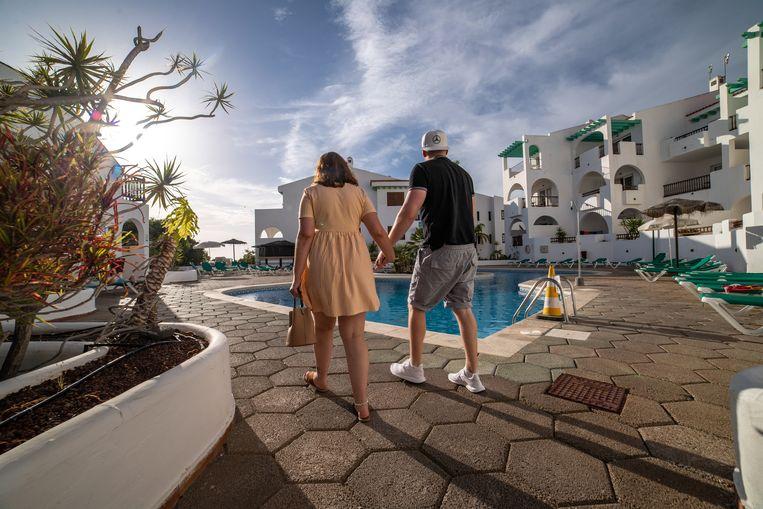 De all-inhotels in Tenerife zullen gauw weer vollopen, voorspellen touroperators. Beeld NurPhoto via Getty Images