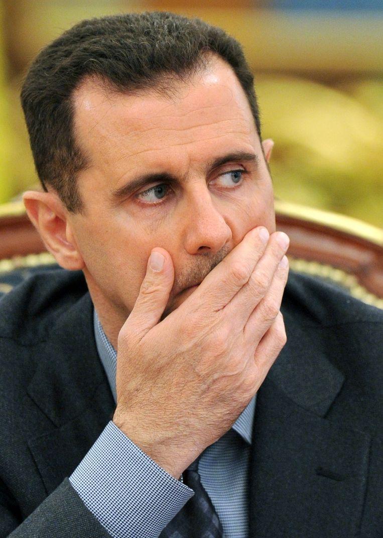 Bashar al-Assad in 2010. Beeld afp