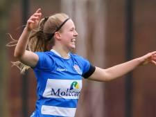 PEC Zwolle Vrouwen nog aan kop in de eredivisie na gelijkspel in Heerenveen