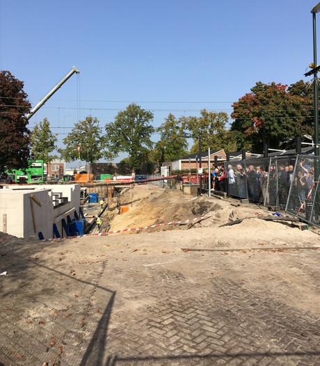 Turen naar de nieuwe tunnel in Oisterwijk; 'ik heb er speciaal vrij voor genomen'