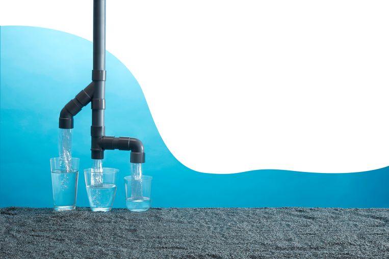 Marc Van Molle, fysisch geograaf:  'Het waterverbruik stijgt wereldwijd sowieso al exponentieel. Dat heeft onder meer te maken met China.'       Beeld Van Santen & Bolleurs