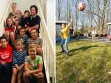 Deze familie zit met tien man thuis door sluiting scholen