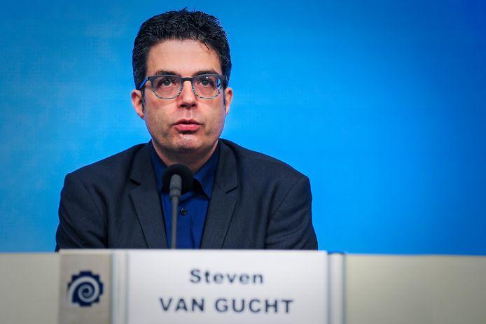 Steven Van Gucht, virologue à Sciensano