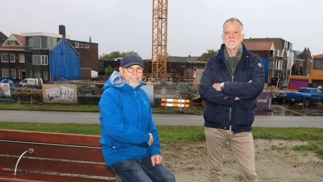 Bij Wilmar en Gerard gaat het steeds meer kriebelen; 'hun' Residentie Veerhaven gaat de hoogte in