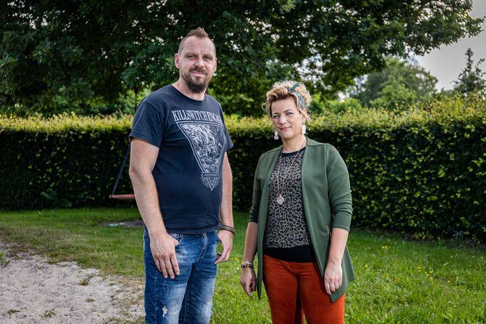 Sebastiaan Hendriks en Kristel Tijhuis.