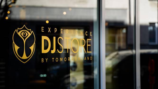 Tomorrowland opent eigen winkel in Antwerpse Kloosterstraat