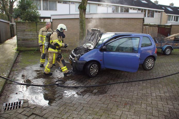 De brandweer had het brandje snel geblust in Doetinchem.