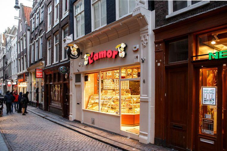 Een winkel op de Lange Niezel Beeld Carly Wollaert