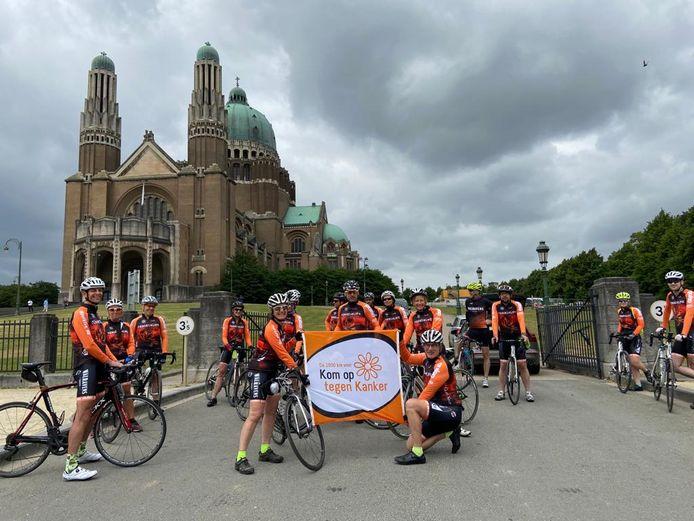 Marc Van Campenhout - Grimbergenaar fietst elk jaar voor het goede doel KOTK -  vecht tegen Kahler