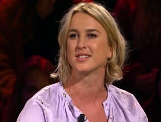 """Kat Kerkhofs toont mislukte tattoo in De Slimste mens: """"Net een spermacel"""""""