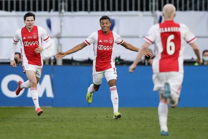 Eliminés en Europa League jeudi soir, l'Ajax se console avec la Coupe des Pays-Bas.