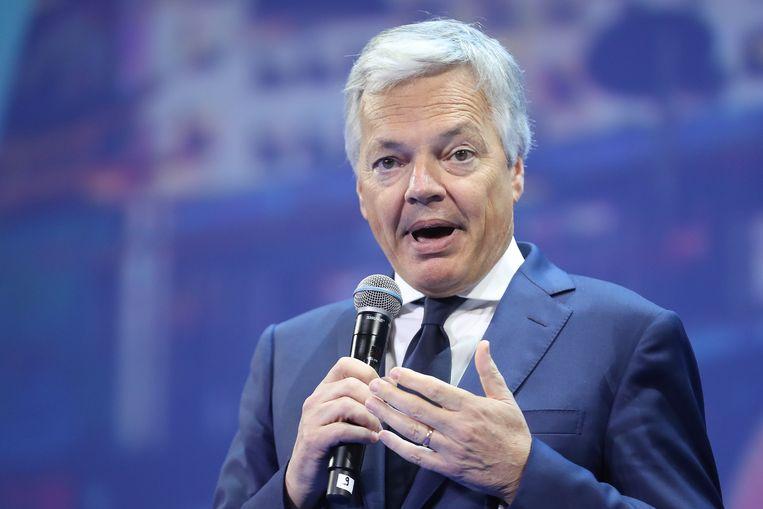 Minister van Buitenlandse Zaken Didier Reynders. Beeld Belga