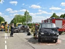 Twee gewonden bij botsing in Berkel-Enschot