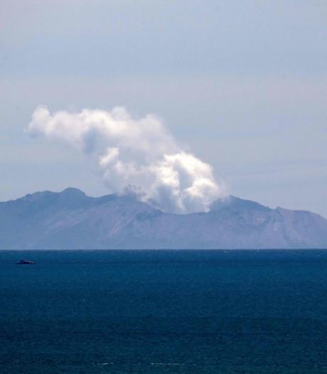 Vulkaan White Island gaat heftig tekeer, verhindert zoekactie naar vermisten