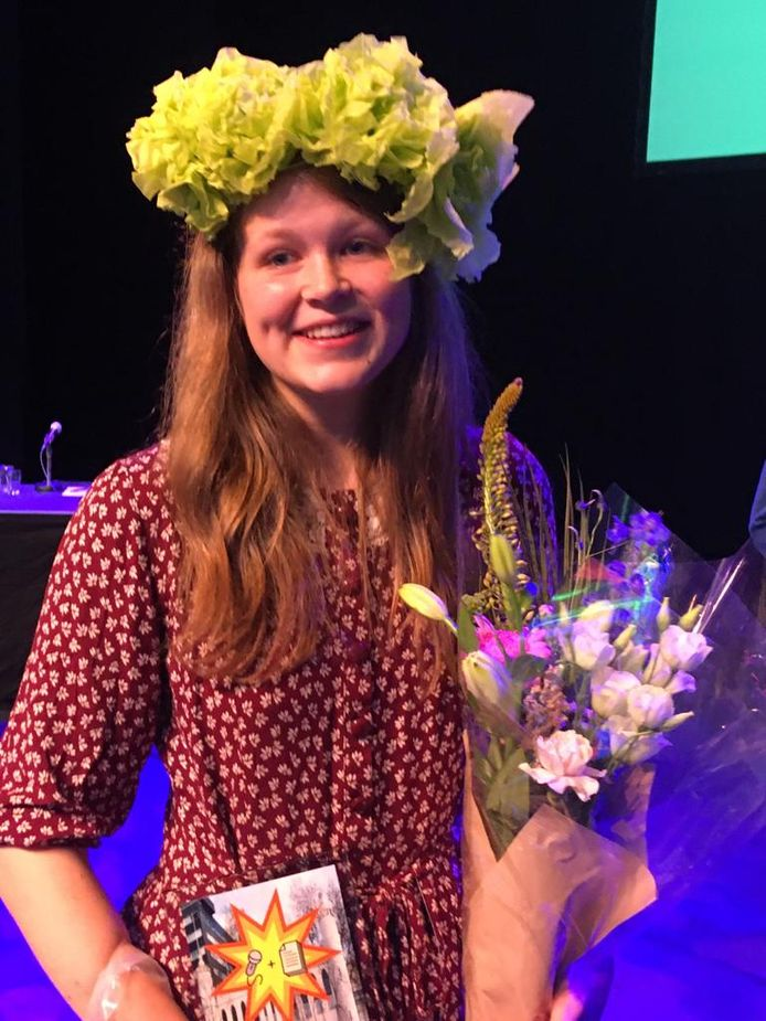 Gina Goossens is Junior Stadsdichter van Tilburg.