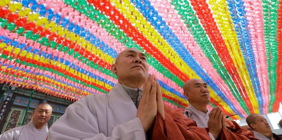 fotoreeks over Vreugdetaferelen in afwachting van ontmoeting Korea's