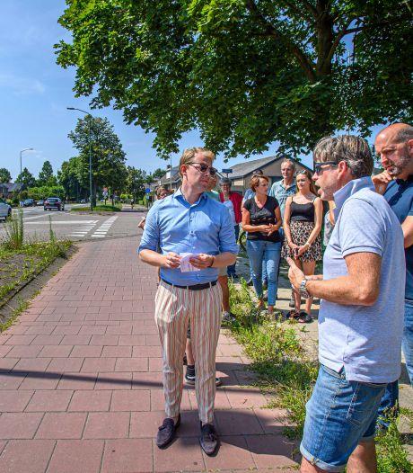 Politiek 'ramptoerisme' langs de N640: 'De weg is te druk, het is niet veilig'