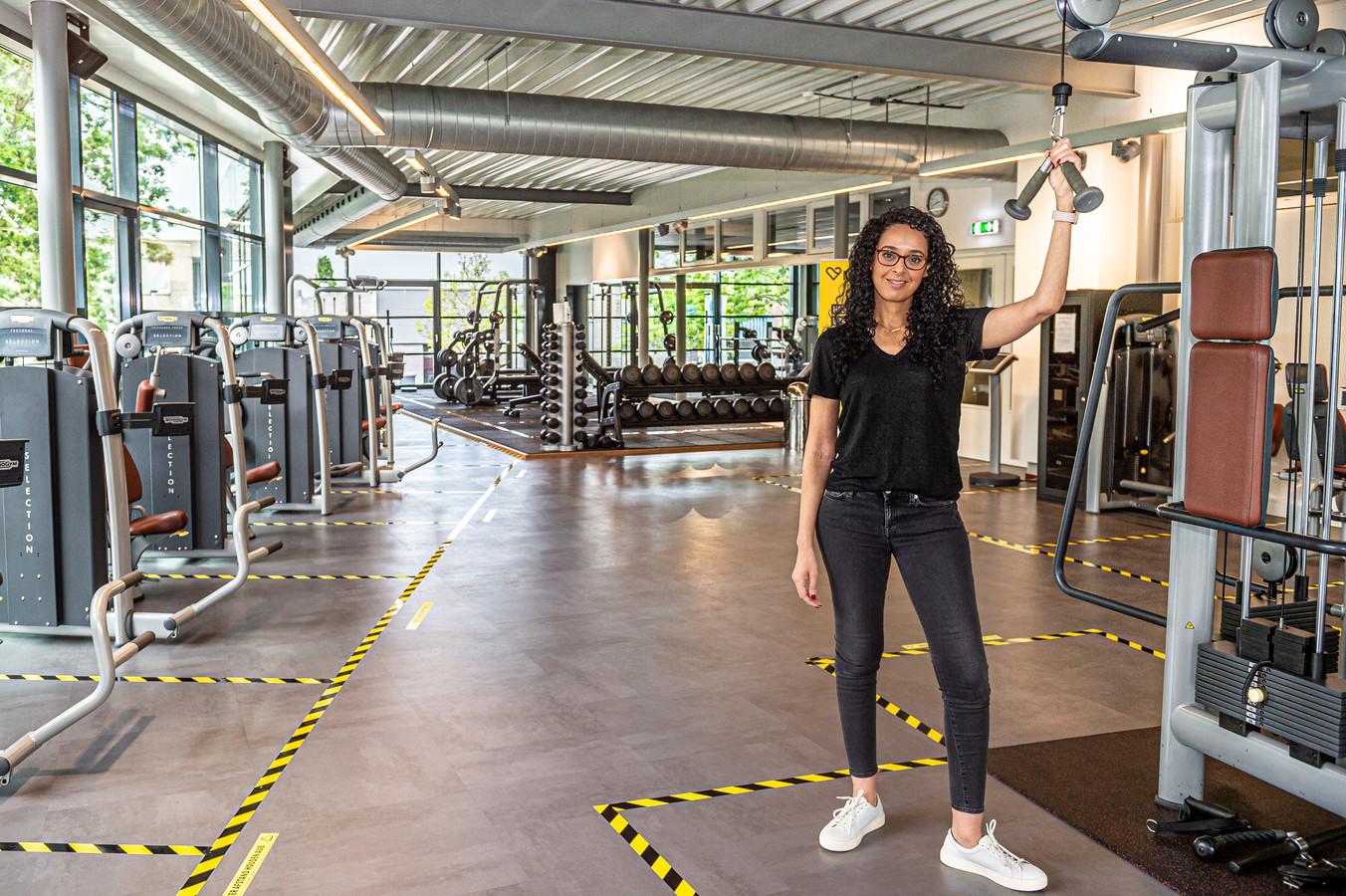 Noura el Ayachi van Nippon the Healthclub in Schoonhoven.