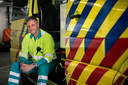 Ambulanceverpleegkundige Rob Boudewijns was maandag 19 maart als eerste ter plaatse.
