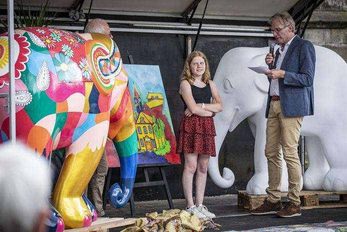 Kim Roeleveld won de ontwerpwedstrijd
