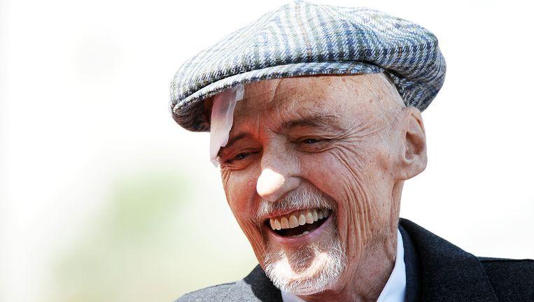 De Amerikaanse acteur Dennis Hopper is zaterdag thuis in de Amerikaanse staat Californië overleden aan de gevolgen van prostaatkanker. Foto ANP Beeld