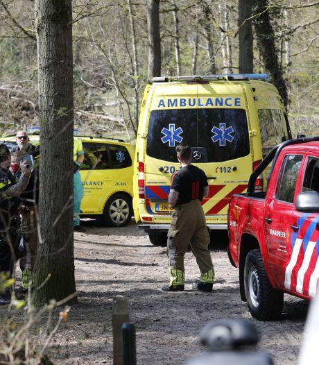 Mountainbiker gewond afgevoerd na ongeval op Bergse Heide
