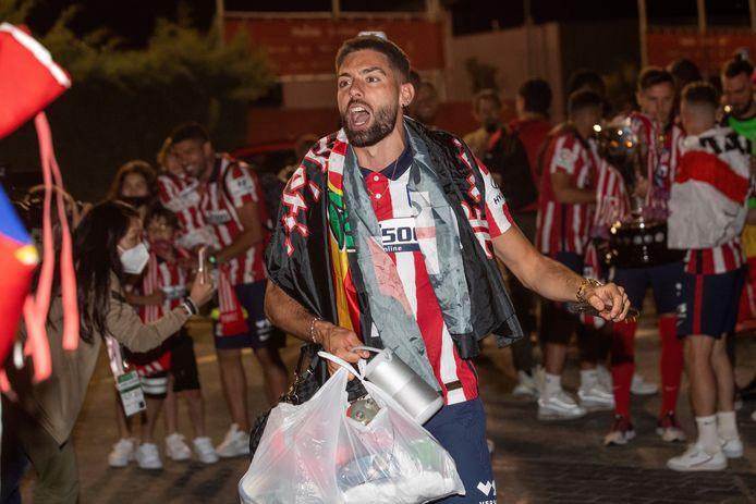 Yannick Carrasco vierde de titel met Atlético