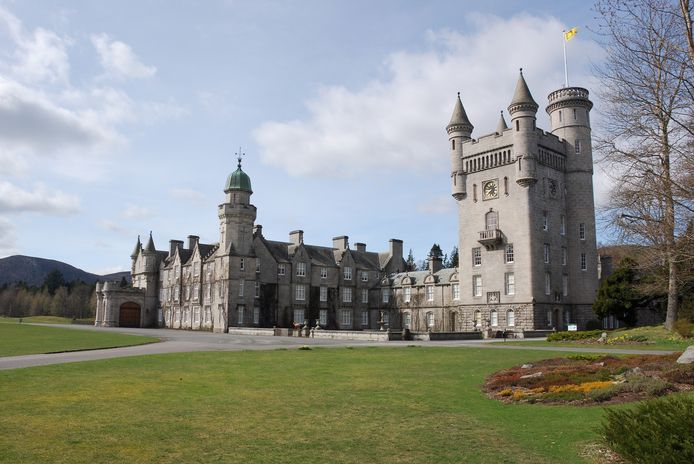 Balmoral castle Aberdeenshire, private residence of the Queen