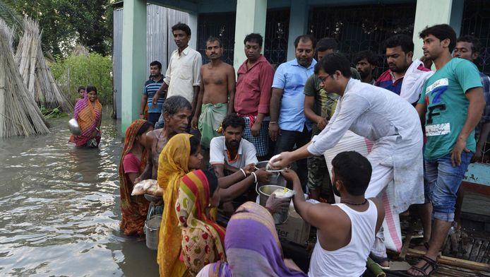 Inondations en Inde.