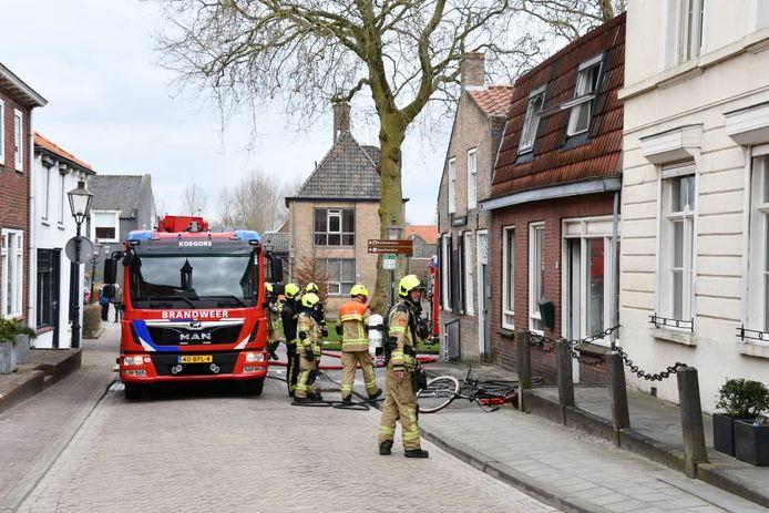 Brand in een woning in Biervliet.