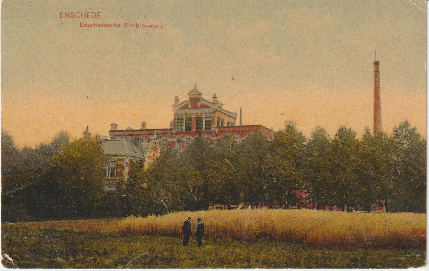 De Enschedesche Bierbrouwerij, 1908.