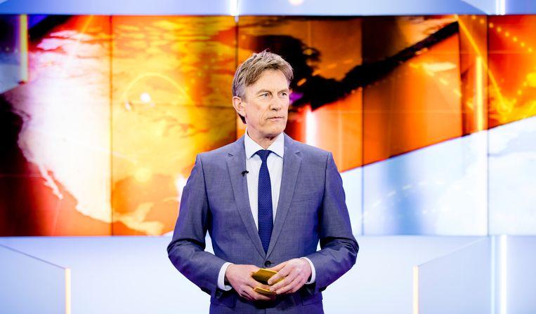 Presentator Pieter Jan Hagens. Beeld ANP