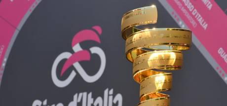 Uitslag, etappeschema en deelnemerslijst Giro