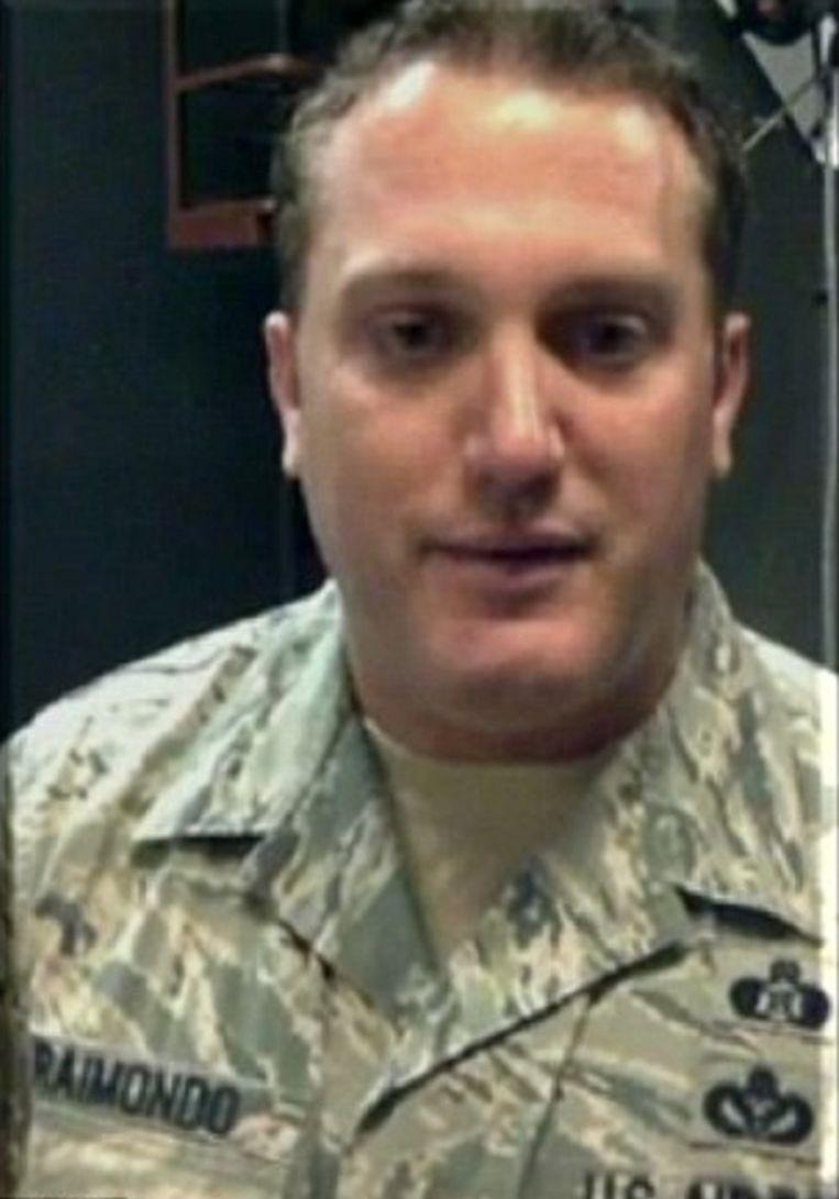 Piloot Daniel Raimondo.