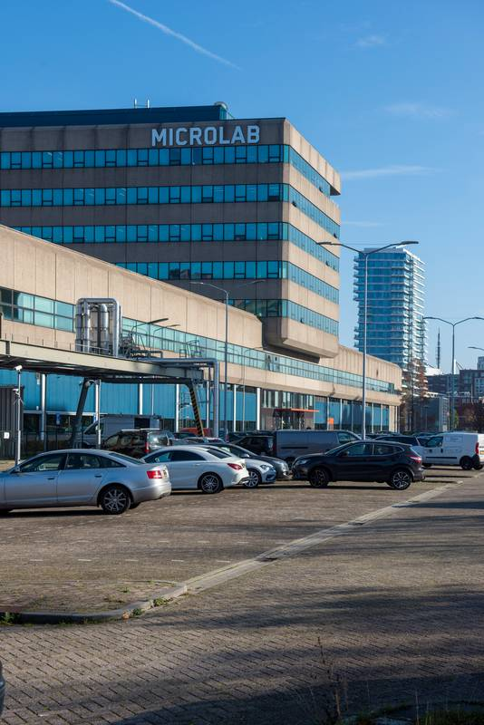 Parking Microlabs op Strijp-S.