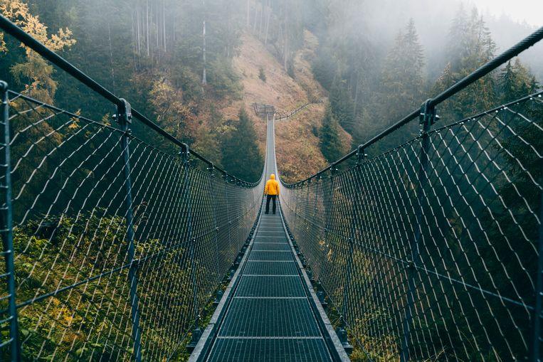 Hangbrug Beeld Getty Images