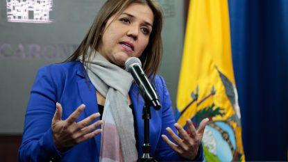 Corrupte vicepresident Ecuador vervangen door vrouw