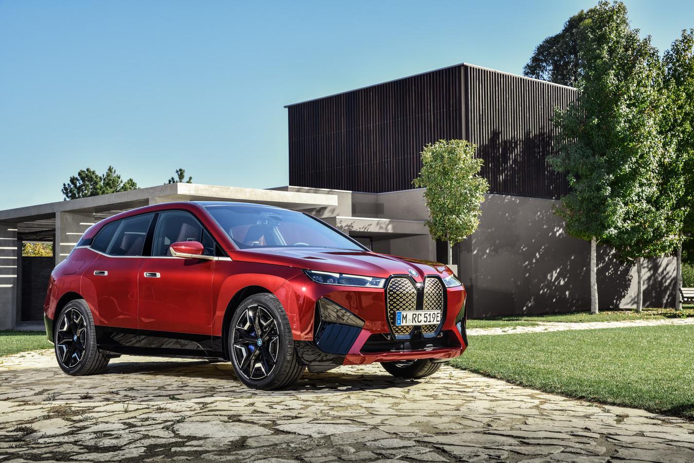 De nieuwe iX, volgens BMW het meest geavanceerde model ooit, komt later in 2021 op de markt