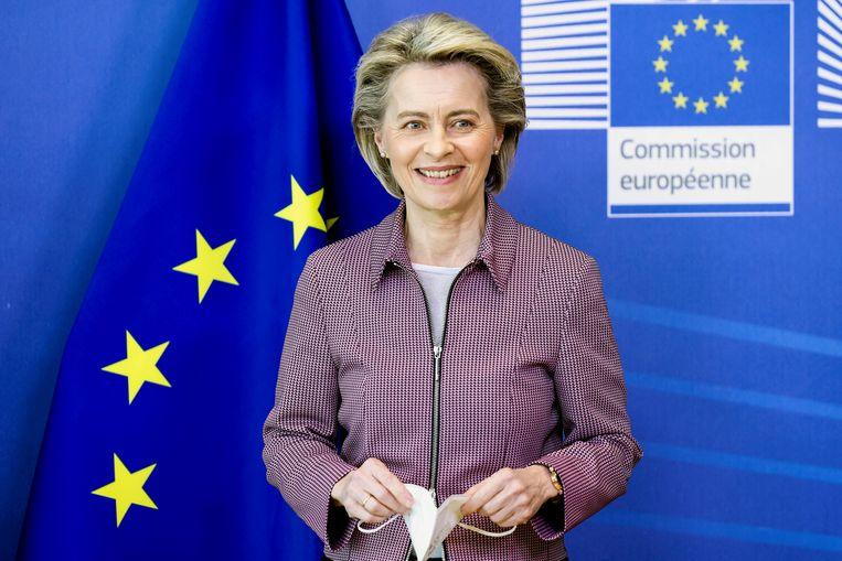 Europese Commissievoorzitter Ursula von der Leyen. Beeld REUTERS