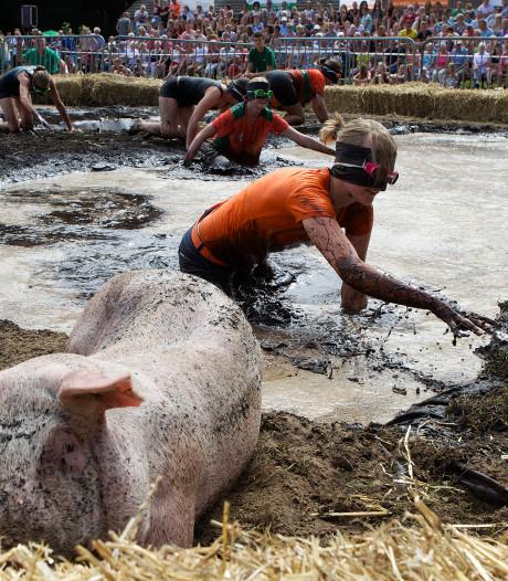 Weer protest dierenclubs tegen zwientie tikken in Luttenberg