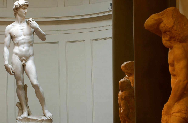Michelangelo's David Beeld Getty Images
