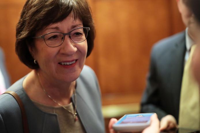 Senator Susan Collins .