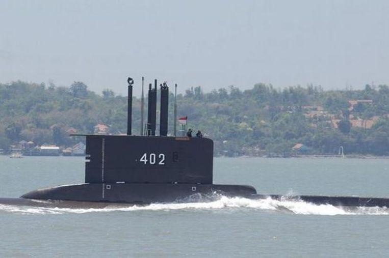 De vermiste Indonesische duikboot KRI Nanggala-402. Beeld Privé