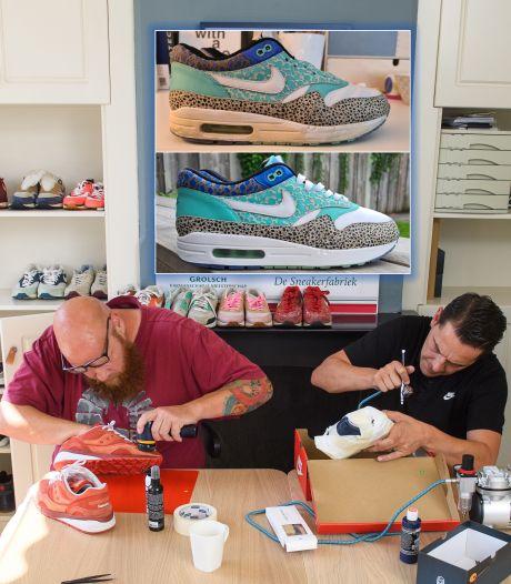 Sneakerfabriek in Hengelo blaast oude gympen nieuw leven in: 'Betaalde baan ervoor opgezegd'