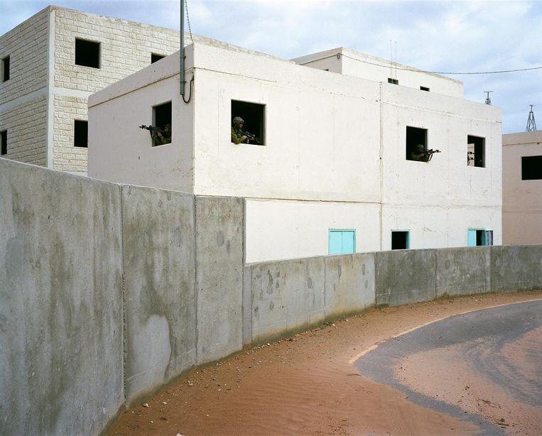 Baladia, trainingscentrum van het Israëlische leger in de Negevwoestijn, 2012. Beeld Ad van Denderen