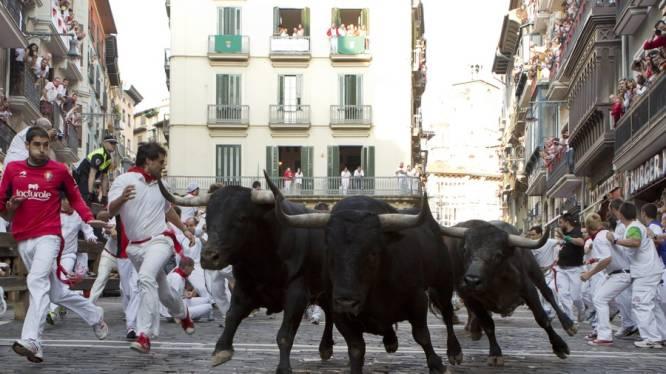 Tiener komt om bij stierenrennen in Spanje