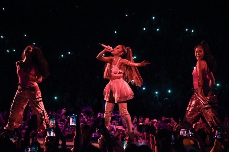 Ariana Grande. Beeld Getty/Kevin Mazur