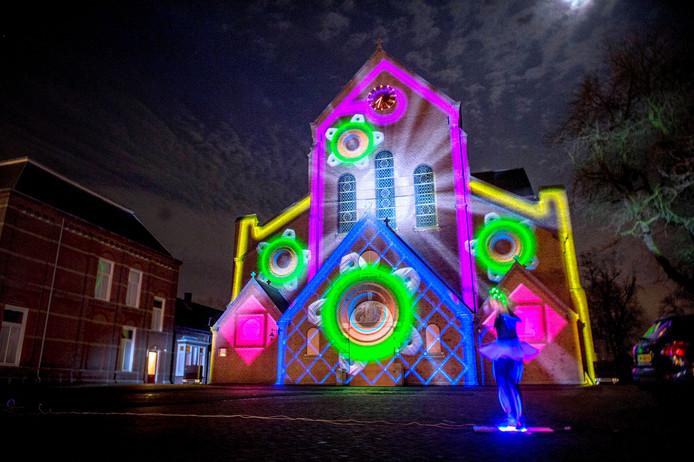 In 2015 was er tijdens Lauwe on Light een spectaculaire lasershow.